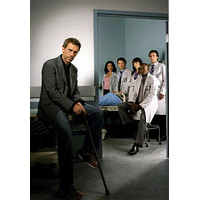 """House Poster Hugh Laurie 16""""x24"""""""