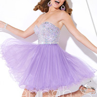 Sweetheart Neckline Beaded Embellished Formal Prom Dress By Hannah S 27897