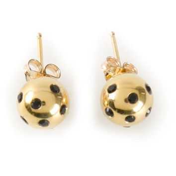 ONETOW Nektar De Stagni 'Ladybug' earrings