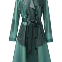 Techno Transparency Coat | Moda Operandi