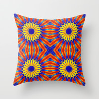 Arizona Floral Throw Pillow by 2sweet4words