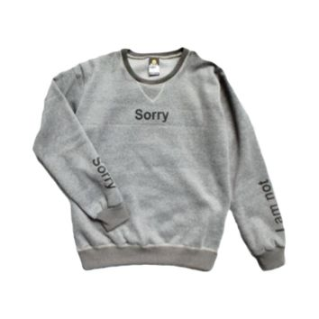 Sorry Not Sweater