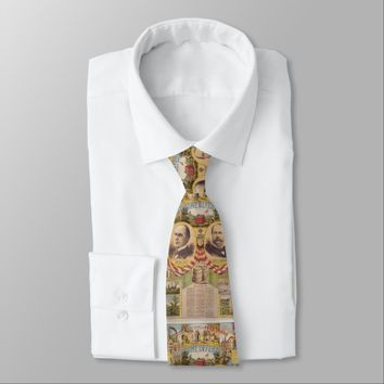 Vintage Republican Party Presidential Campaign Tie