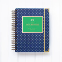 2015 Simplified Planner in Navy Blue by Emily Ley
