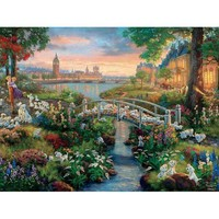 Thomas Kinkade The Disney Collection 101 Dalmatians Jigsaw Puzzle - Puzzle Haven