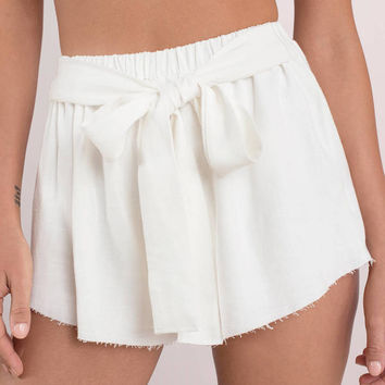 Ride With Me Tie Shorts