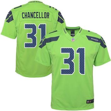 Mens Seattle Seahawks Kam Chancellor Nike College Navy Game Jersey
