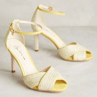 Guilhermina Lemon Heels Yellow