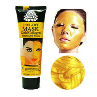 24K gold mask Anti wrinkle anti aging facial mask face care whitening face masks skin care face lifting firming moisturize 120ml