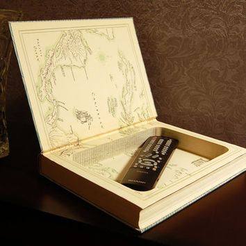 Hollow Book Safe  (Voyages of Christopher Columbus)