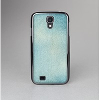 The WaterColor Blue Texture Panel Skin-Sert Case for the Samsung Galaxy S4