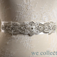 Free shipping! Bridal Bridesmaid Sash Belt,Wedding Dress Sash Belt