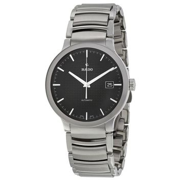 Rado Centrix Automatic Black Dial Stainless Steel Mens Watch R30939163