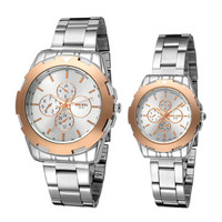 Men Women Casual Sports Racing Watches Steel Strap Watch Best Lover Christmas Gift Watch-252
