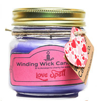 Love Spell Scented Candle 8oz.