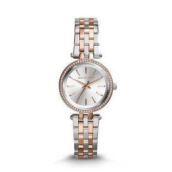 CREYRQ5 Michael Kors Women's Darci Two-Tone Petite Watch