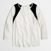 Factory graphic blouse : Blouses & Tees | J.Crew Factory