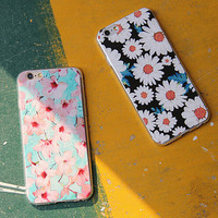 Retro Floral Silicone Case for iPhone 5s 6 6s Plus Lover Gift-87
