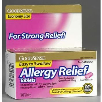 GOOD SENSE ALLERGY RELIEF TABLETS