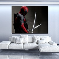 Deadpool Darkness Canvas Set