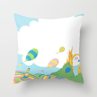 oh the places you'll go .. dr seuss Throw Pillow by Studiomarshallarts