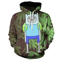Faded Adventure Time Hoodie