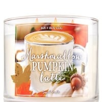 3-Wick Candle Marshmallow Pumpkin Latte