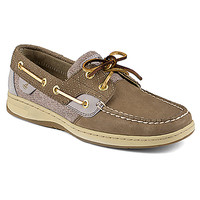 Sperry Top-Sider Bluefish | Women's - Griege Quilted Collar - FREE SHIPPING at OnlineShoes.com
