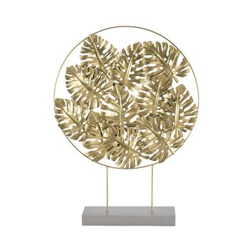 7159-044 Quintus Gold Foliage Sculpture - Free Shipping!