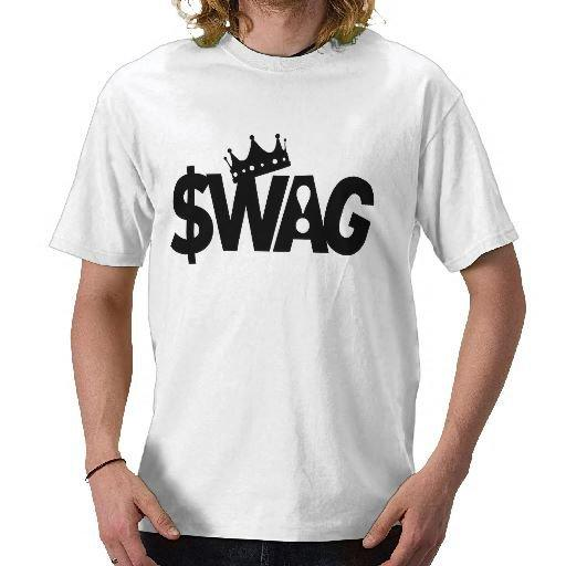 King of Swag T-shirt from Zazzle.com
