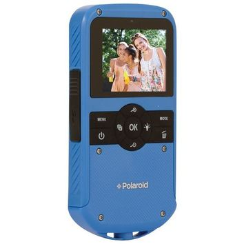 Polaroid(R) ID610-BLU 1.3-Megapixel All-Weather Digital Camcorder