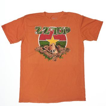 Yellow Rose of Texas ZZ Top Men's Crew - Maple