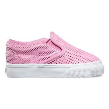 Toddlers Perf Leather Slip-On | Shop Toddler Shoes At Vans
