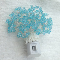 Light Blue Decorative Night Light