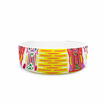 "Miranda Mol ""Cool Summer"" Gold Coral Pet Bowl"