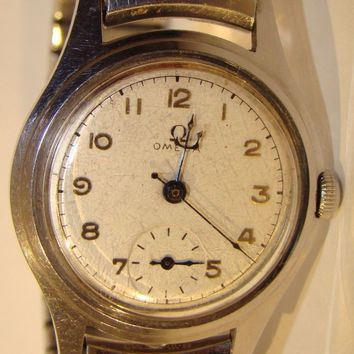 Vintage Omega AUTOMATIC Men's Wrist Watch ALL STAINLESS STEEL it Works