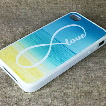 Infinity Sea Beach iPhone 4S/4 Case,iPhone 5 Case,iPod Touch 5 and 4 Case,and Samsung Galaxy Phone Case