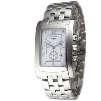 Longines Dolce Vita White Dial Chronograph Mens Watch L5.687.4.16.6