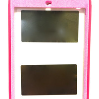 iPad mini 2 OtterBox Defender Series Case Glitter Cute Sparkly Bling Defender Series Custom Case pink/pink