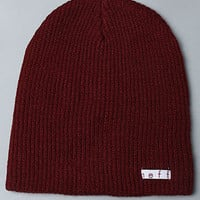 The Daily Beanie in Maroon