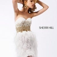 Mini Length Sweetheart White 1387 Homecoming Dress With Applique