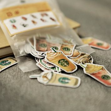 Coffee Drinks Stickers (25 pc.)