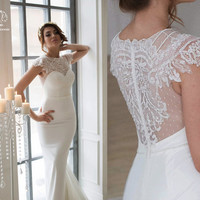 Wedding dress. Bridal gown. Sexy wedding dress. Wedding gown. Lace wedding dress