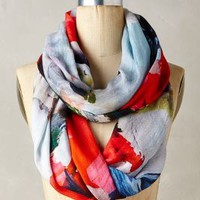 Shiranoe Infinity Scarf by Blank Red One Size Scarves