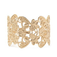 Ornate Filigree Cuff