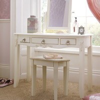 Rachel Dressing Table, Mirror and Stool Set with Optional Assembly Service