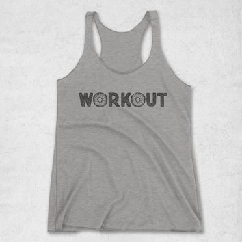 Women's Workout Donuts Tank Top
