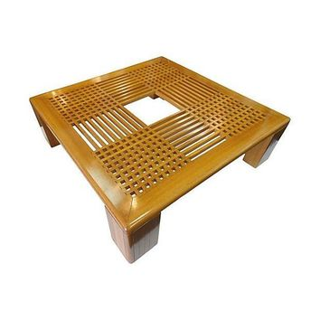 Pre-owned Mid-Century Italian Latticework Coffee Table