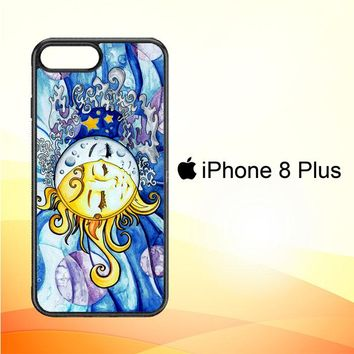 SUN AND MOON Z1074 iPhone 8 Plus Case