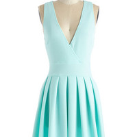 ModCloth Mid-length Sleeveless A-line Witness the Wonder Dress